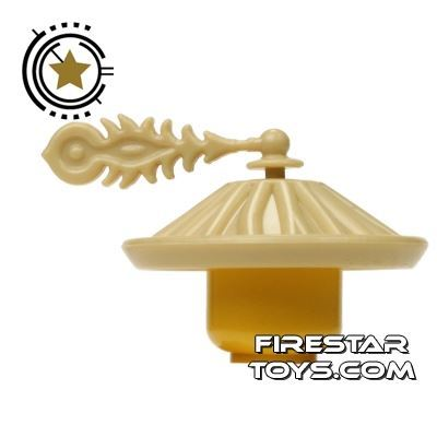 BrickTW - Ching Dynasty Army Hat - Tan