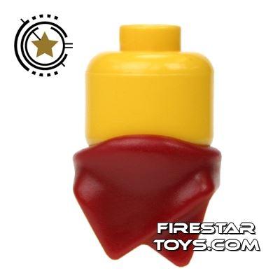 LEGO - Neck Bandana - Dark Red