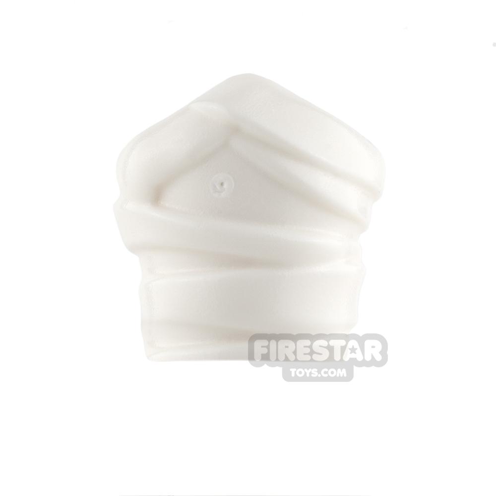 LEGO Mini Figure Hand - Bandage / Cast - White