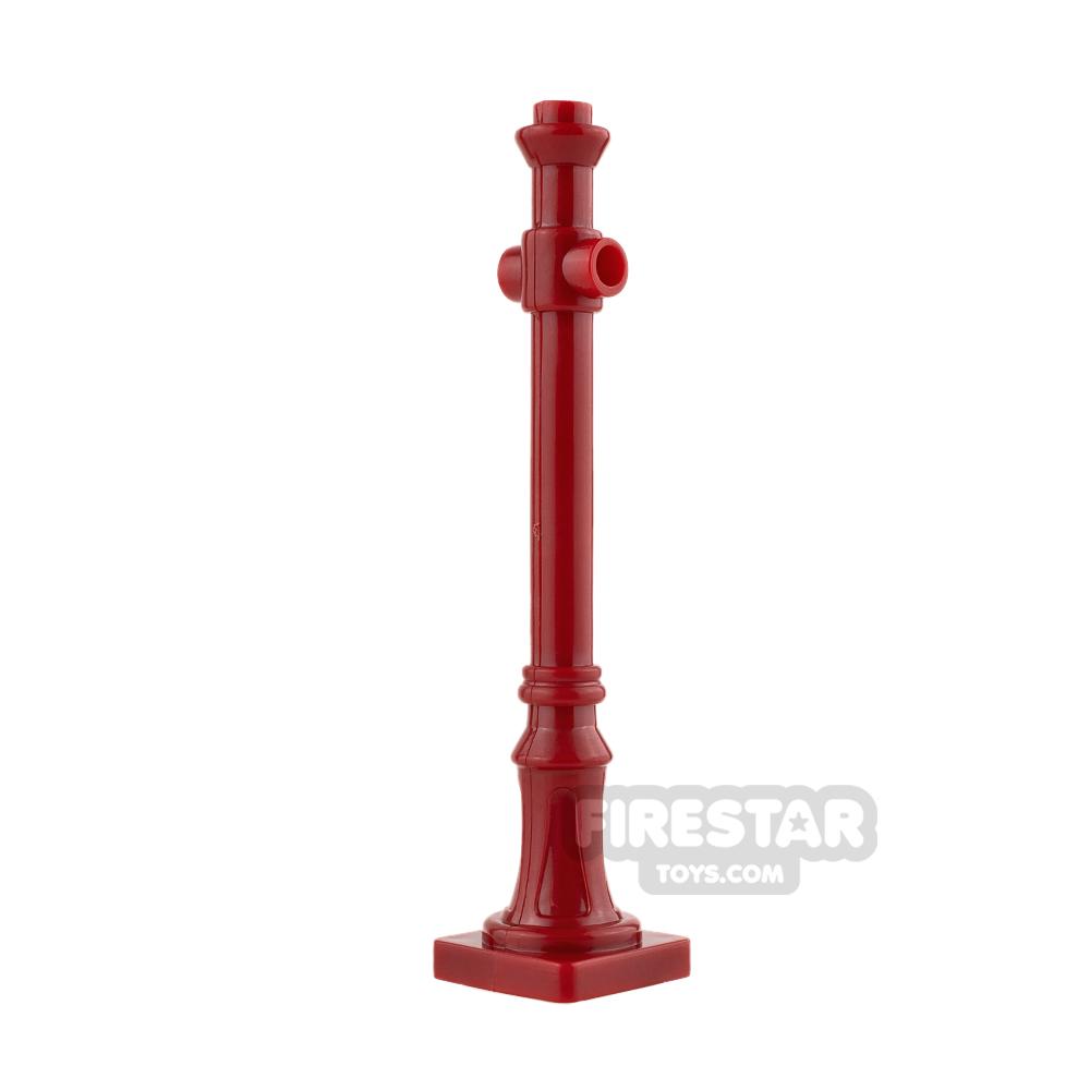 BrickForge - Lamp Post Dark Red
