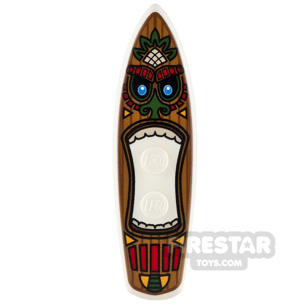 Custom Design - Surfboard - Tiki