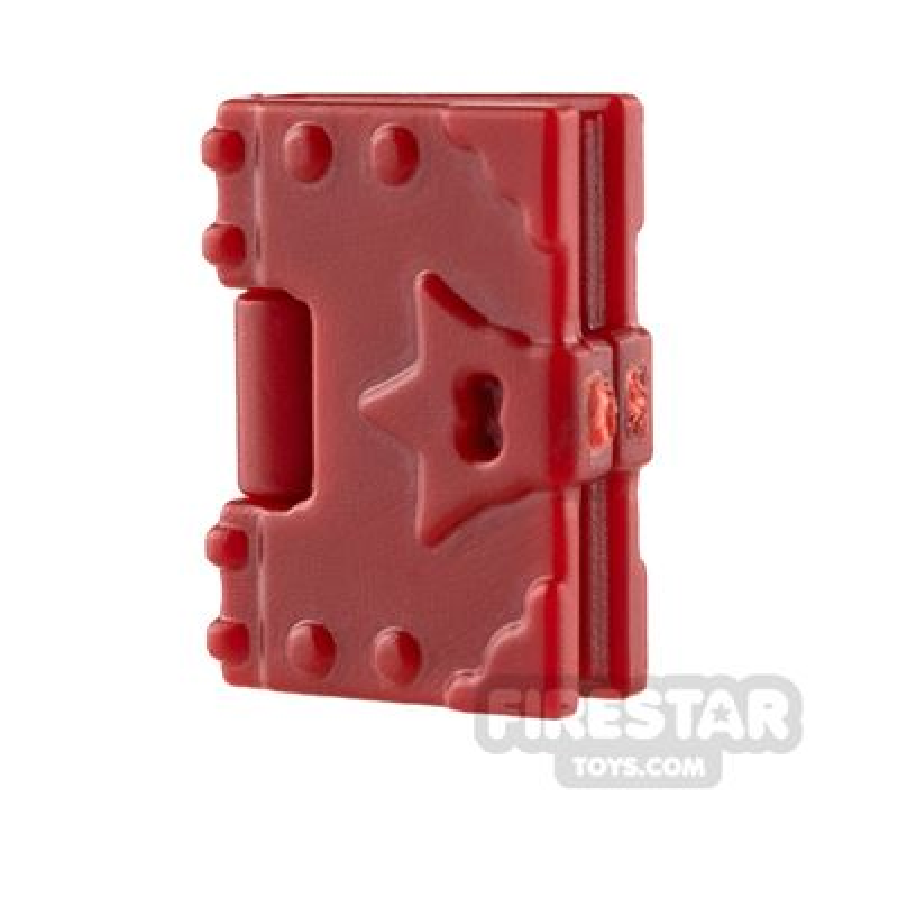 BrickWarriors - Spell Book - Dark Red