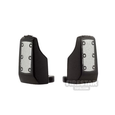 Arealight - Vambraces - Bolted - Pair - Black