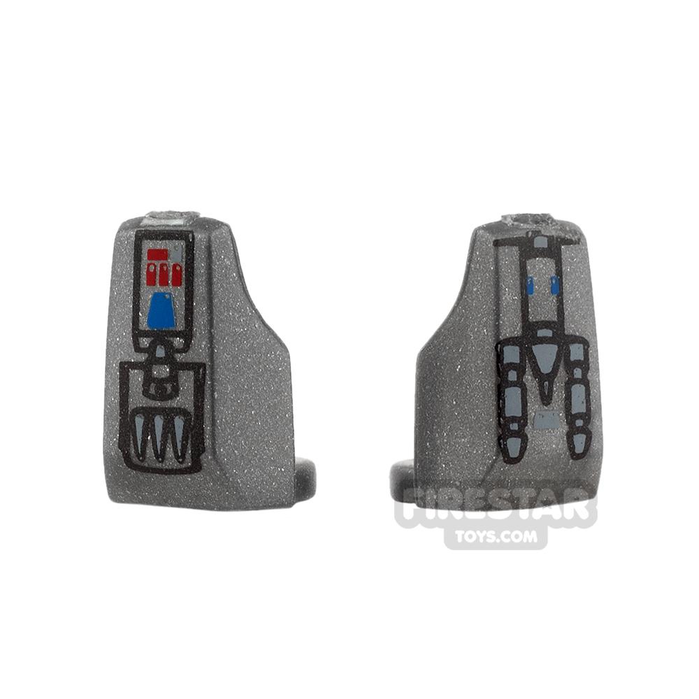 Arealight - Vambraces - Blaster - Pair - Silver