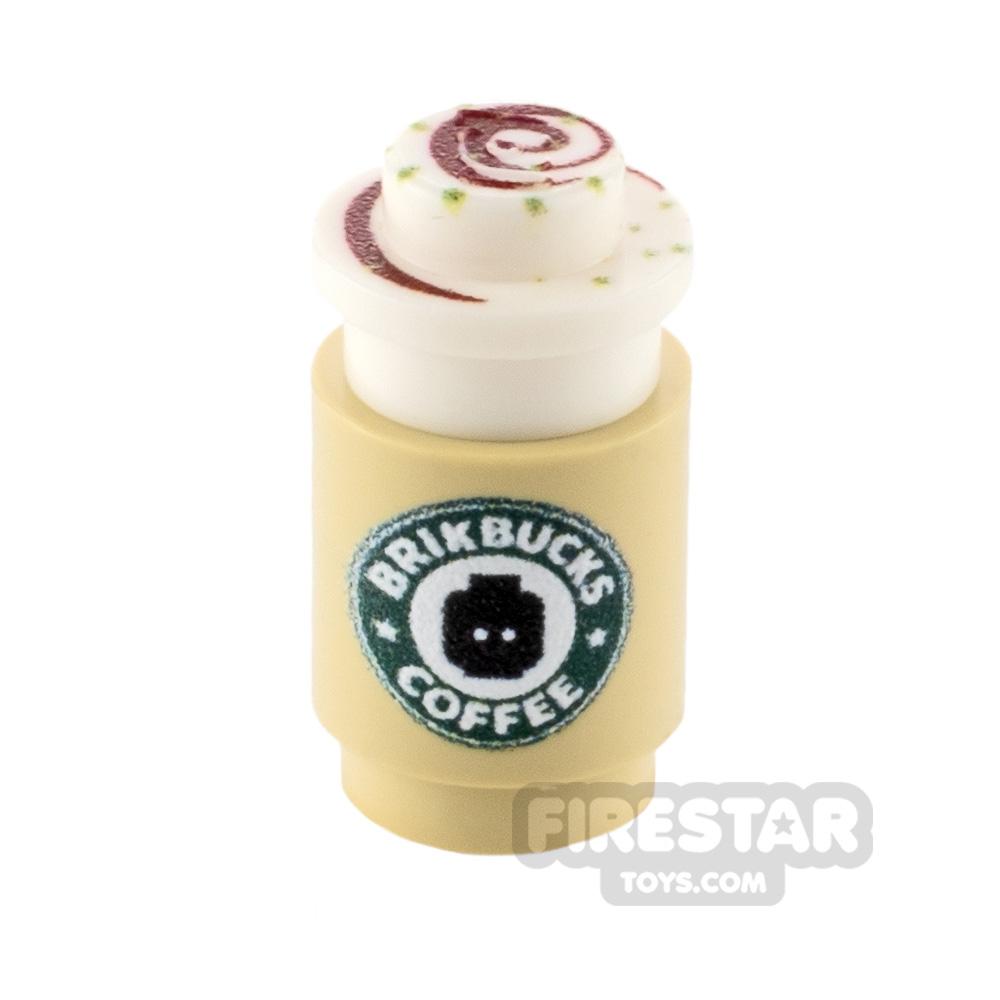 Custom Design - Brikbucks Blokacchino coffee