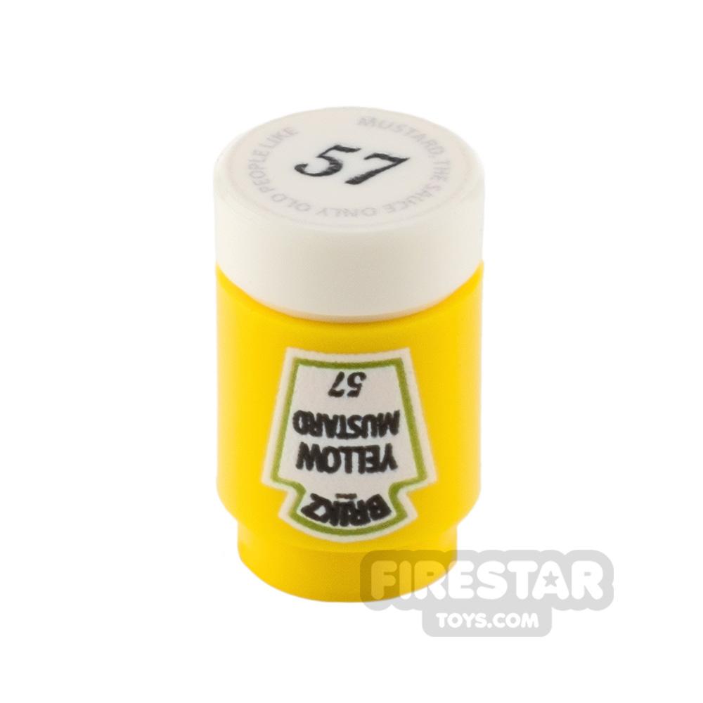 Custom Design - Brikz Yellow Mustard