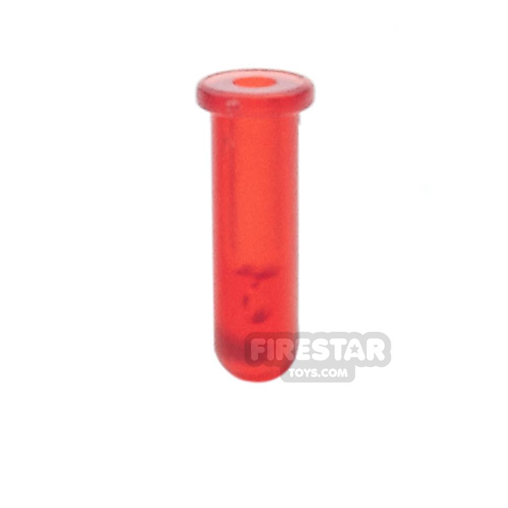 BrickForge - Test Tube - Trans Red