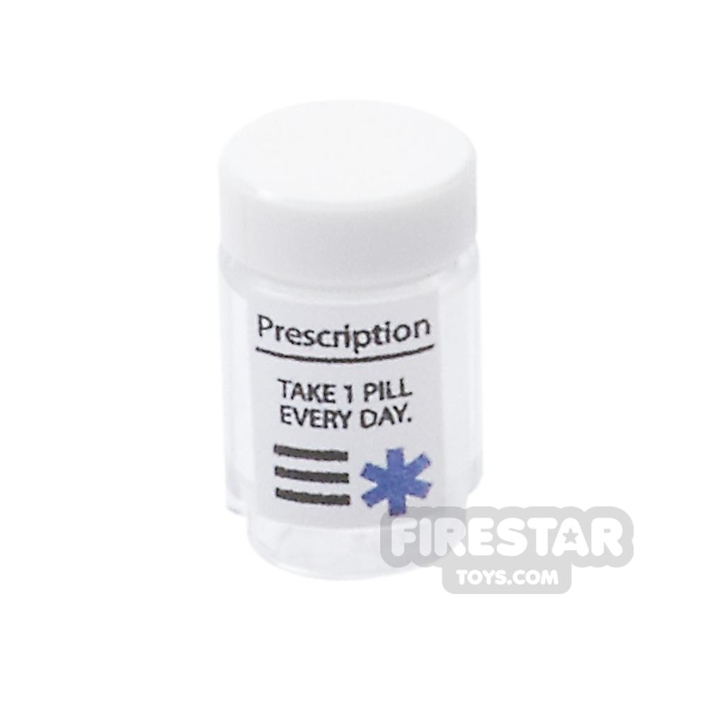 Custom Design - Prescription Jar