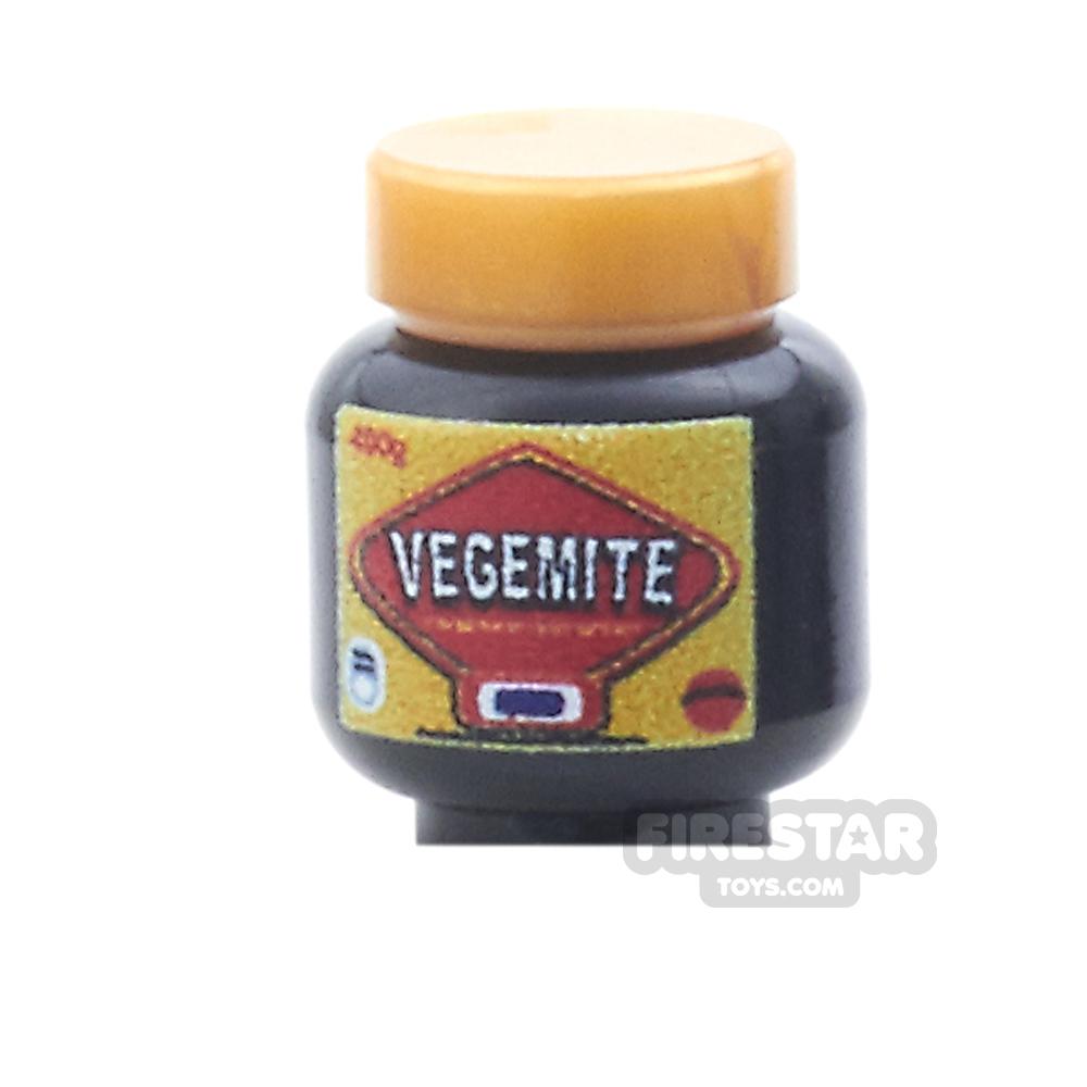 Custom Design - Vegemite Jar
