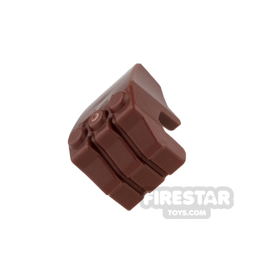 LEGO Mini Figure Hand - Gorilla Fist - Reddish Brown