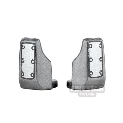 Arealight - Vambraces - Bolted - Pair - Silver