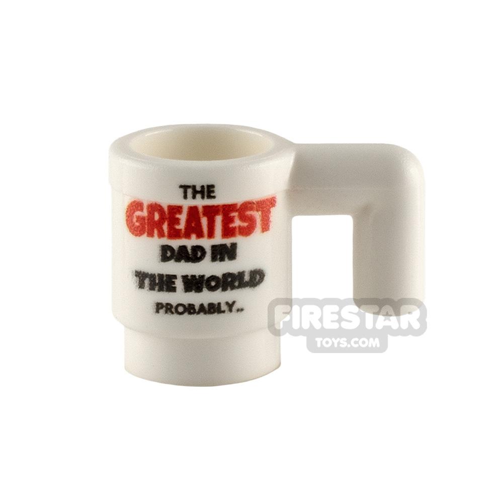 Custom Design Cup Greatest Dad