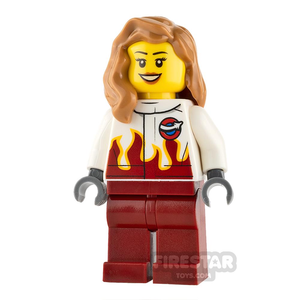 LEGO City Mini Figure - Airport - Stunt Pilot Female
