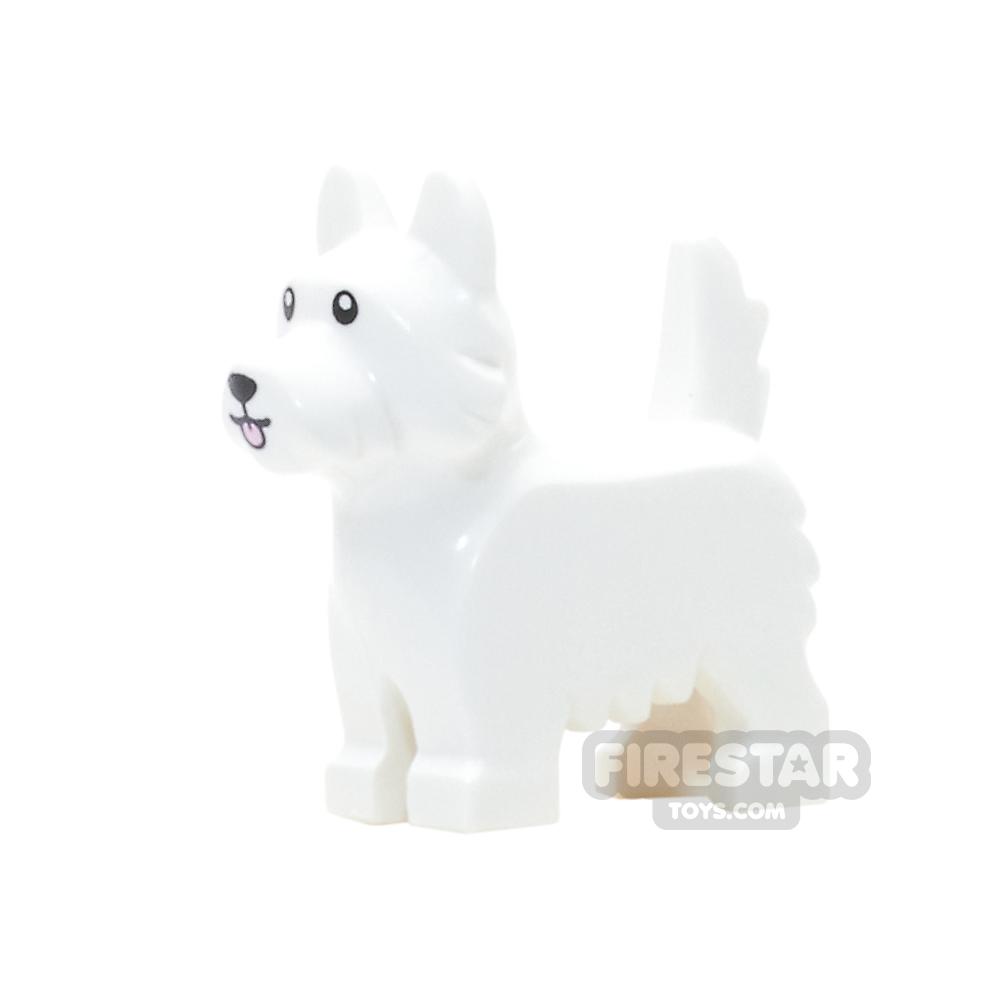 LEGO Animals Mini Figure - Terrier Dog - White