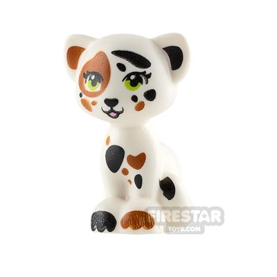 LEGO Animals Mini Figure - Cat - White with Patches