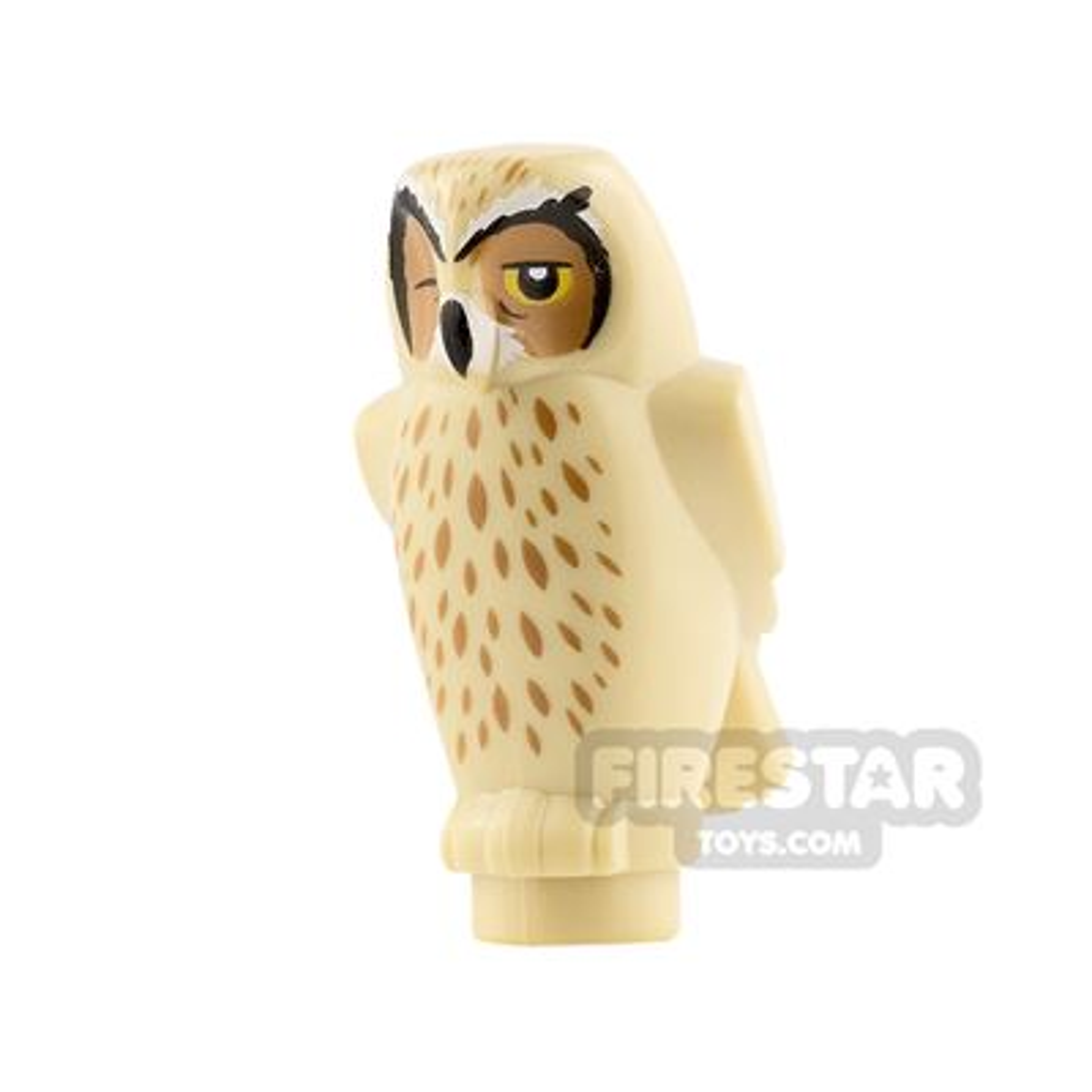 LEGO Animals Minifigure Owl with One Eye Closed