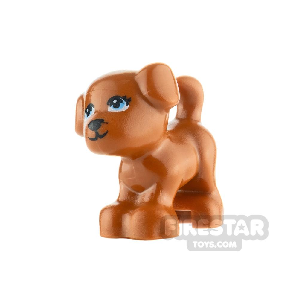 LEGO Animals Minifigure Puppy with Light Blue Eyes