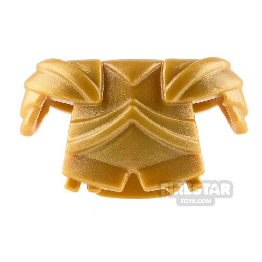 BrickWarriors - Plate Armour - Pearl Gold