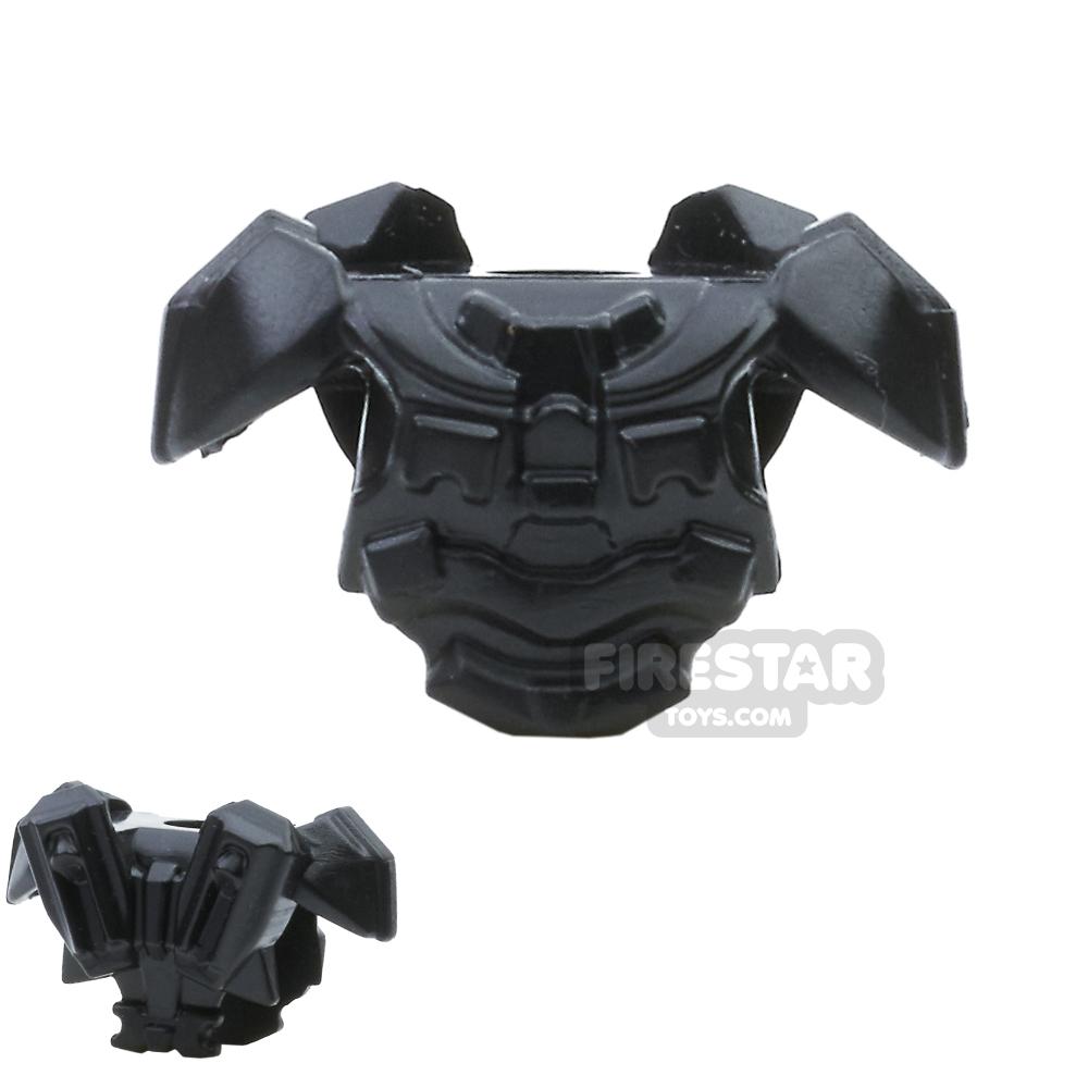BrickWarriors - Galaxy Enforcer Armour - Black