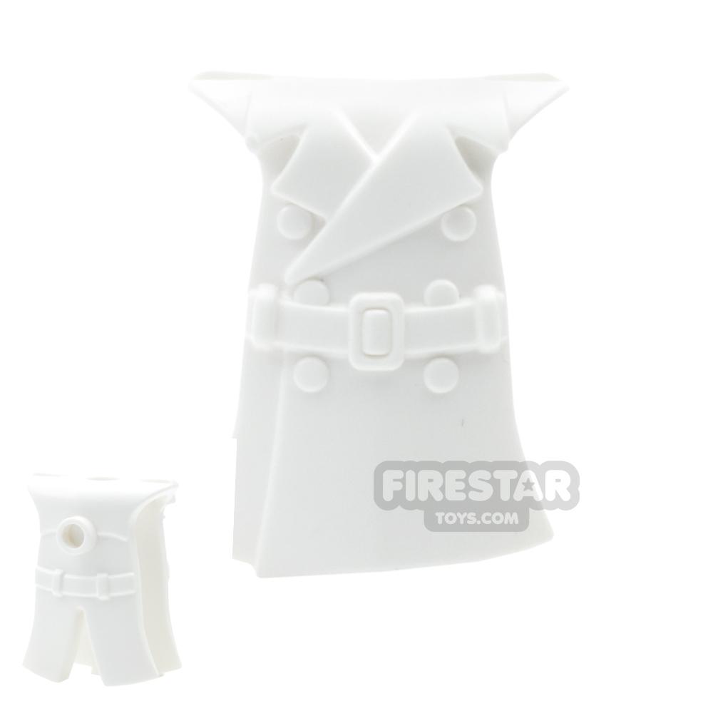 BrickWarriors - Trench Coat - White