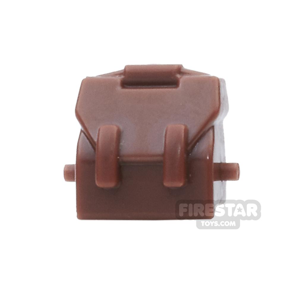 BrickForge - Haversack - Reddish Brown - RIGGED System