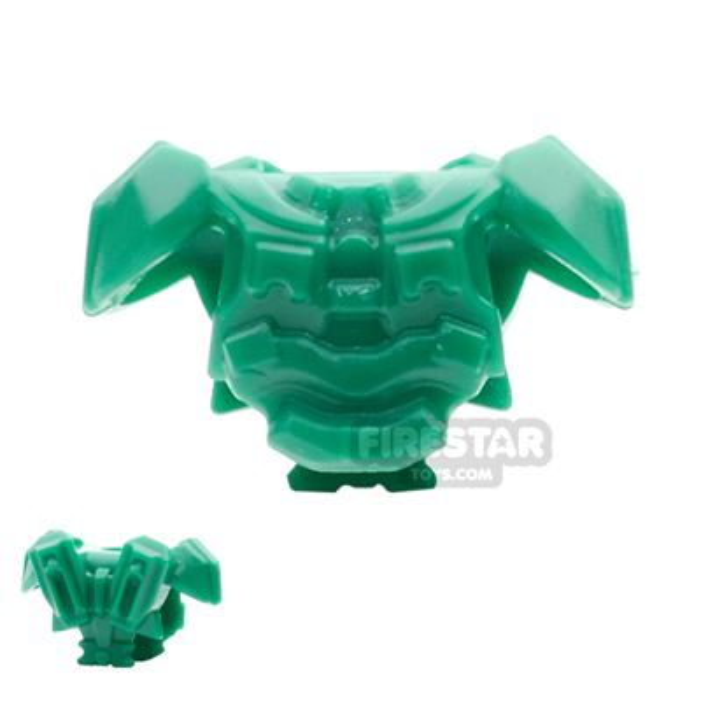 BrickWarriors - Galaxy Enforcer Armour - Green