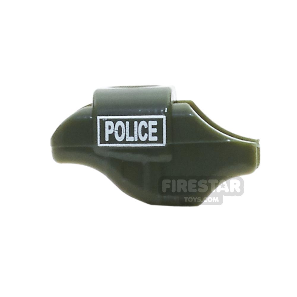 SI-DAN - Armoured Dog Vest - Police - Tank Green