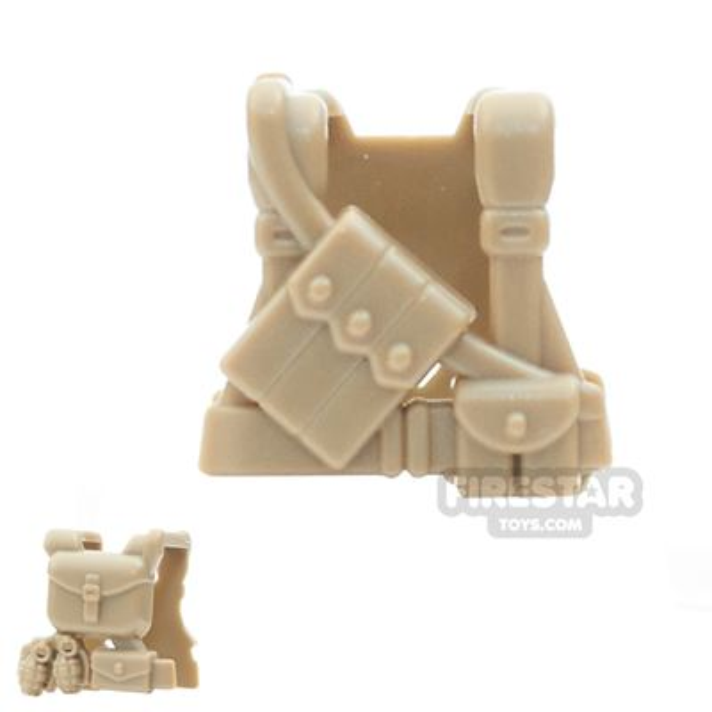 Brickarms - WW2 US Ranger - Dark Tan