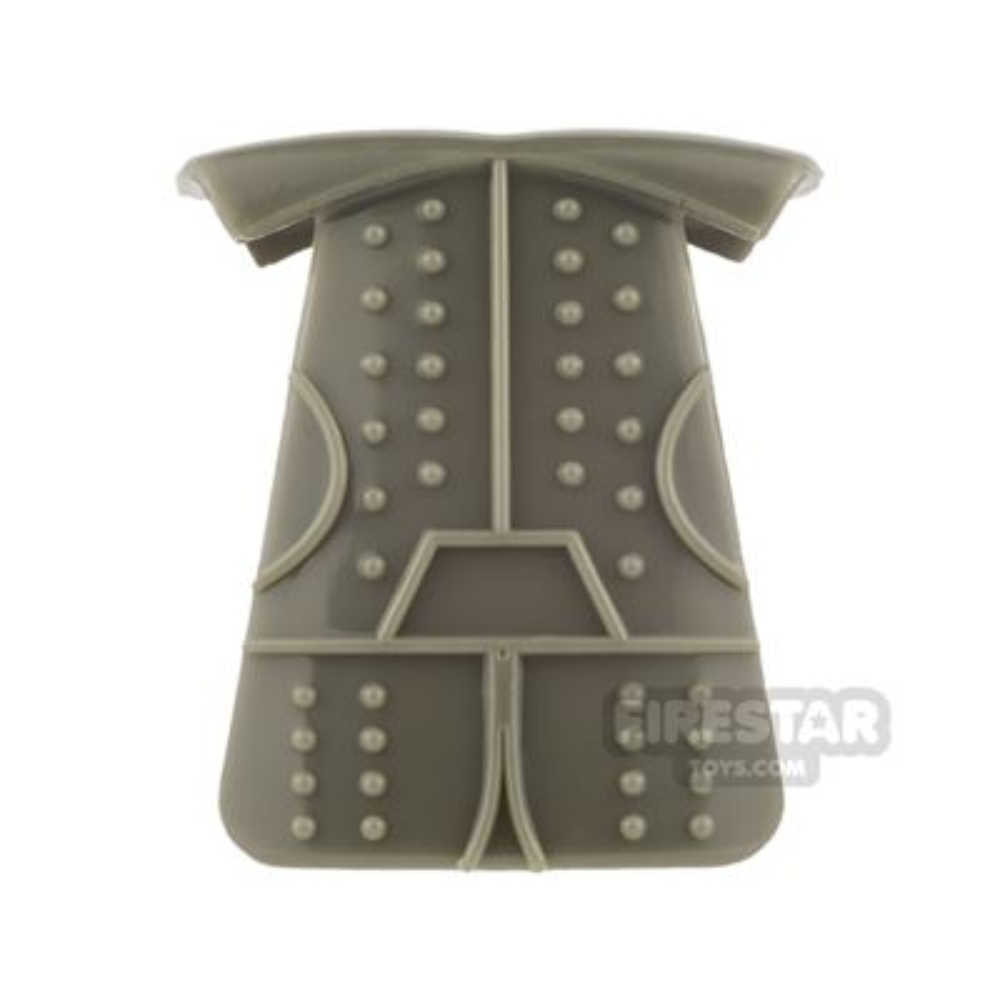 BrickTW - Ching Dynasty Armour - Dark Gray