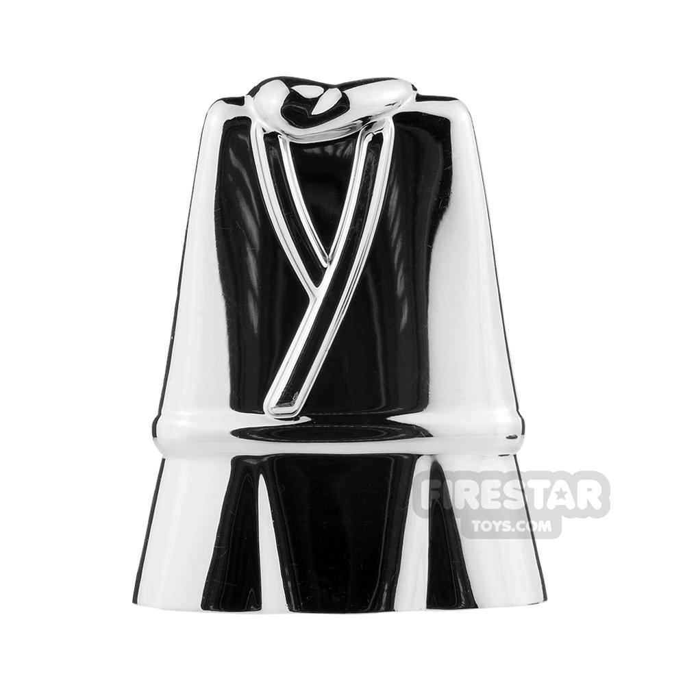 BrickTW - Chinese Male Civillian Clothing - Chrome Silver