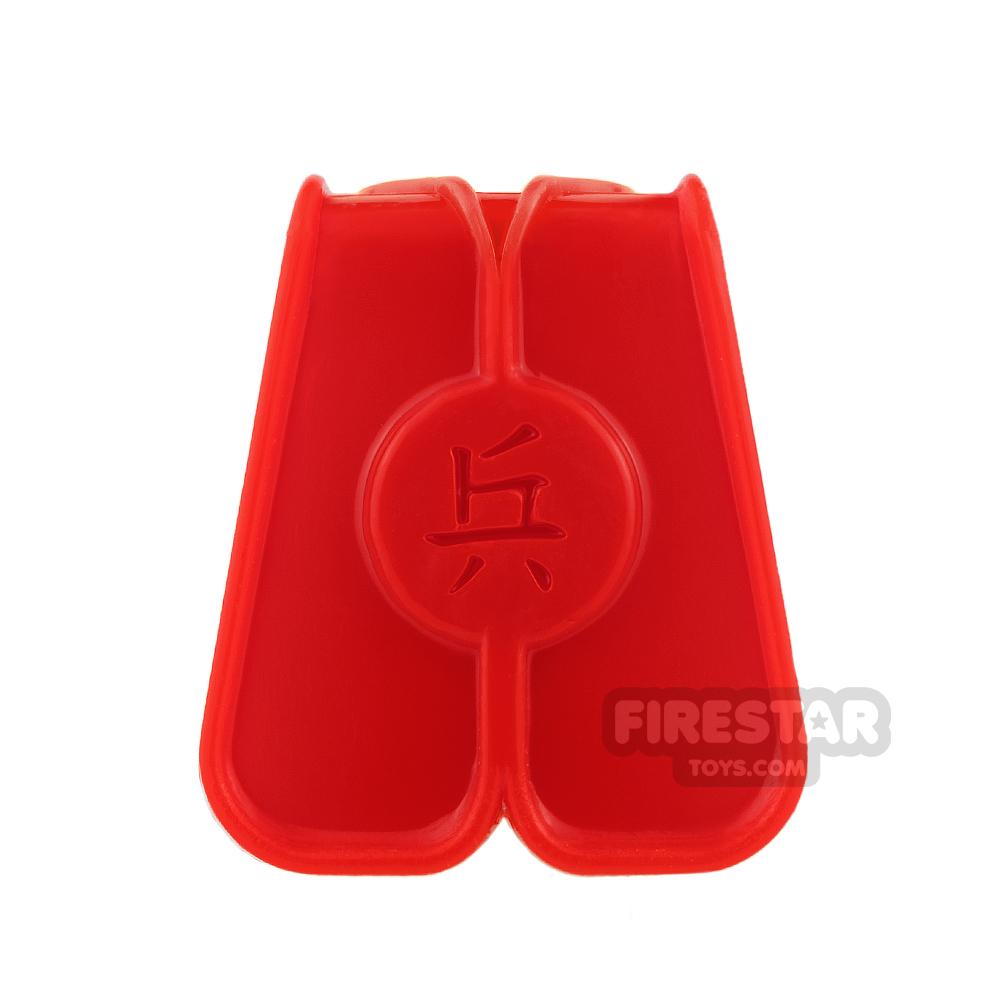 BrickTW - Ching Dynasty Army Clothing - Red