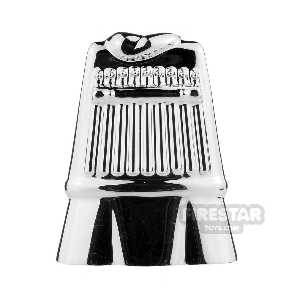 BrickTW - Three Kingdoms Soldier Clothing - Chrome Silver