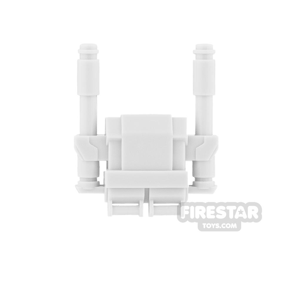 Clone Army Customs - Commando Heavy Pack - White