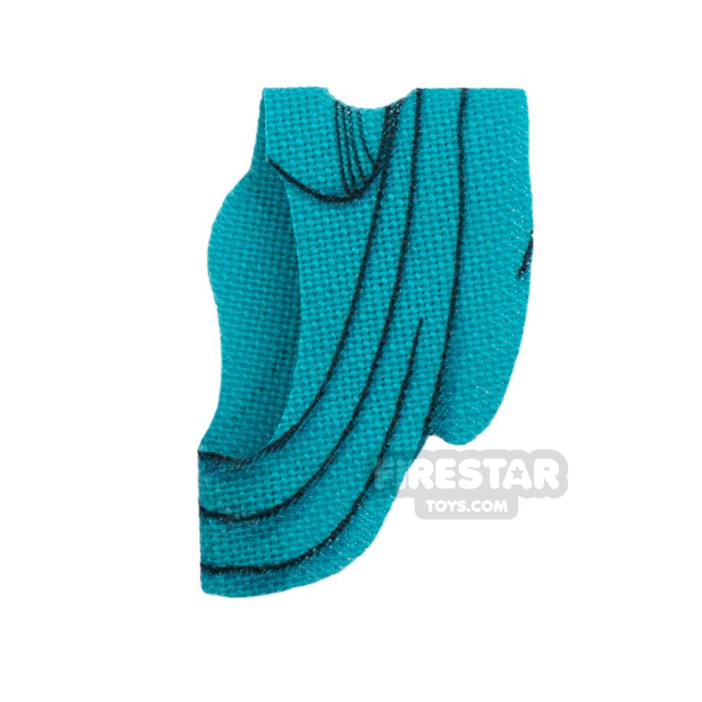 Custom Design Cape - Toga - Dark Turquoise