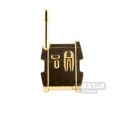 Clone Army Customs - Ranged Backpack - Chrome Gold
