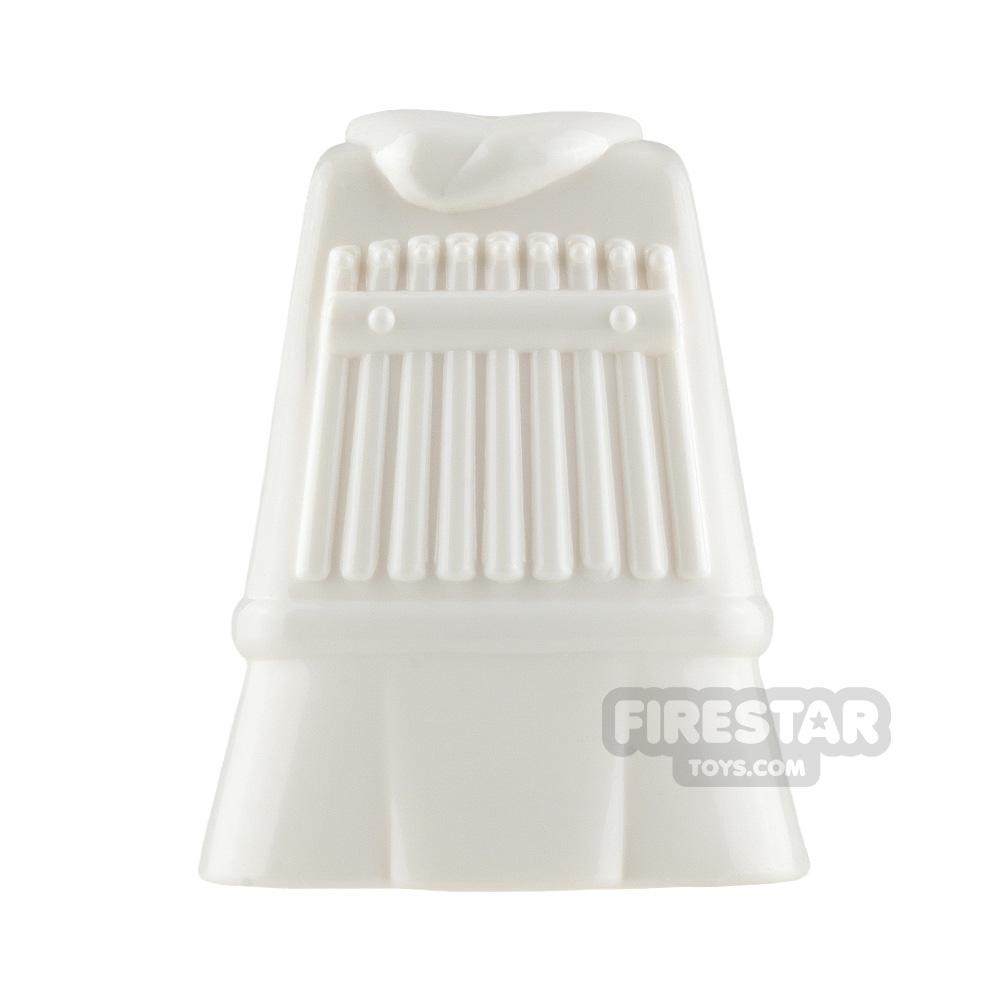 BrickTW - Three Kingdoms Soldier Clothing - White