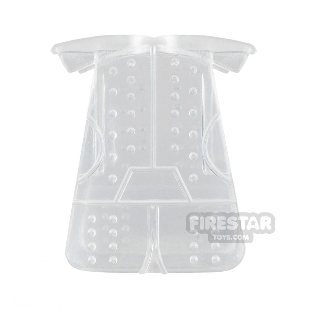 BrickTW - Ching Dynasty Armour - Trans Clear