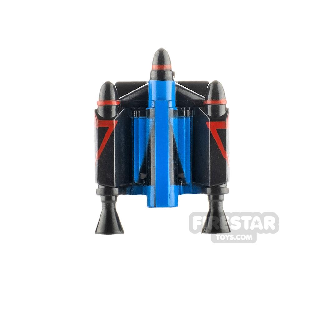 Clone Army Customs Trooper Jet Pack PV Blue