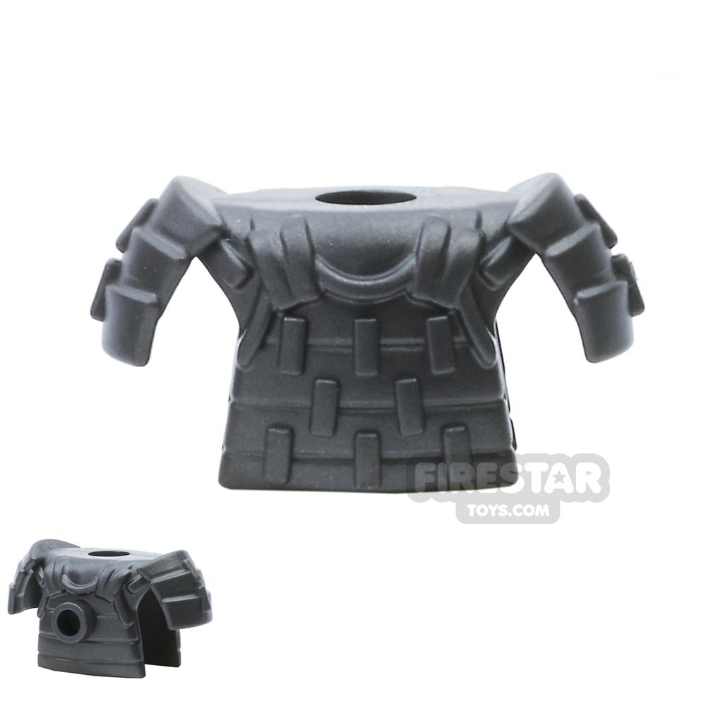 BrickWarriors - Samurai Armour - Steel