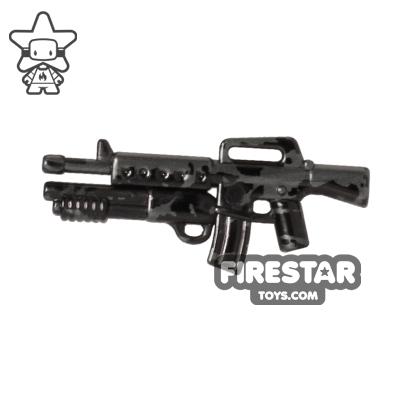 Brickarms - M16-DBR - Gunmetal Tiger Camo