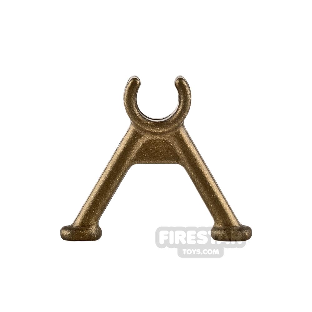 Brickarms - Bipod Gun Stand - Brass