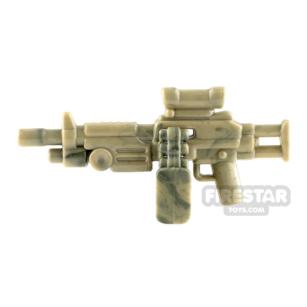 Brickarms M249 Saw Para Camo