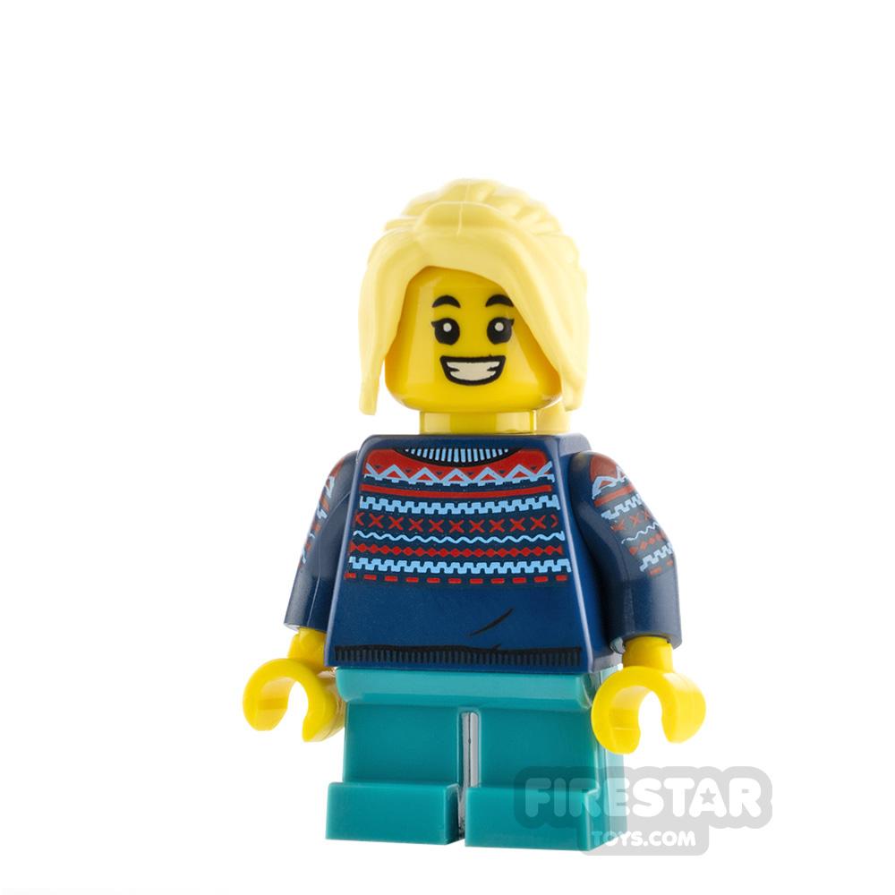 LEGO Minifigure Winter Girl