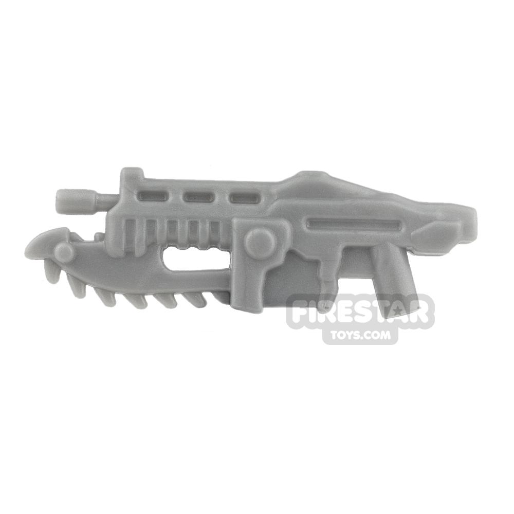 BrickForge - Gears of War - Shredder Gun - Silver