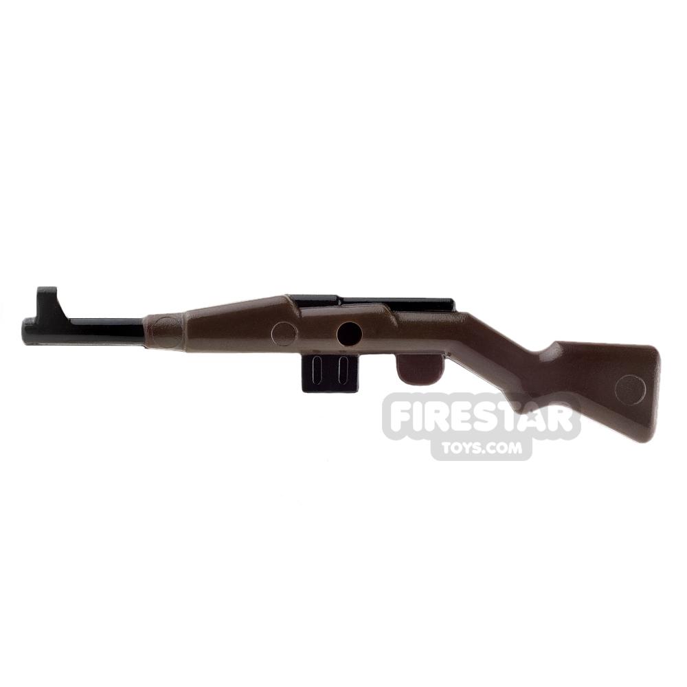 BrickForge - Gewehr 43 - RIGGED System - Dark Brown and Black