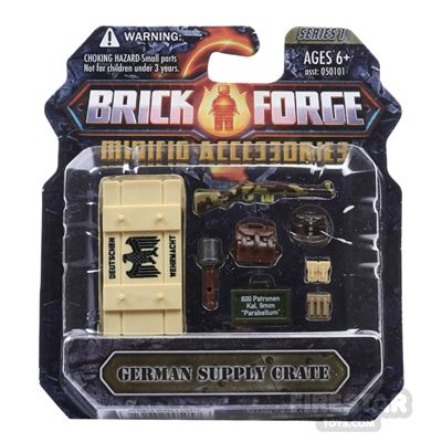 BrickForge Accessory Pack - WW2 - German Supply Crate