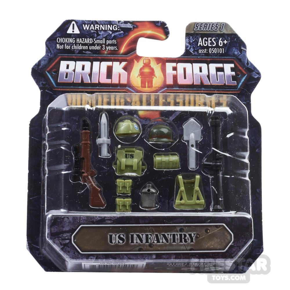 BrickForge Accessory Pack - WW2 - US Infantry