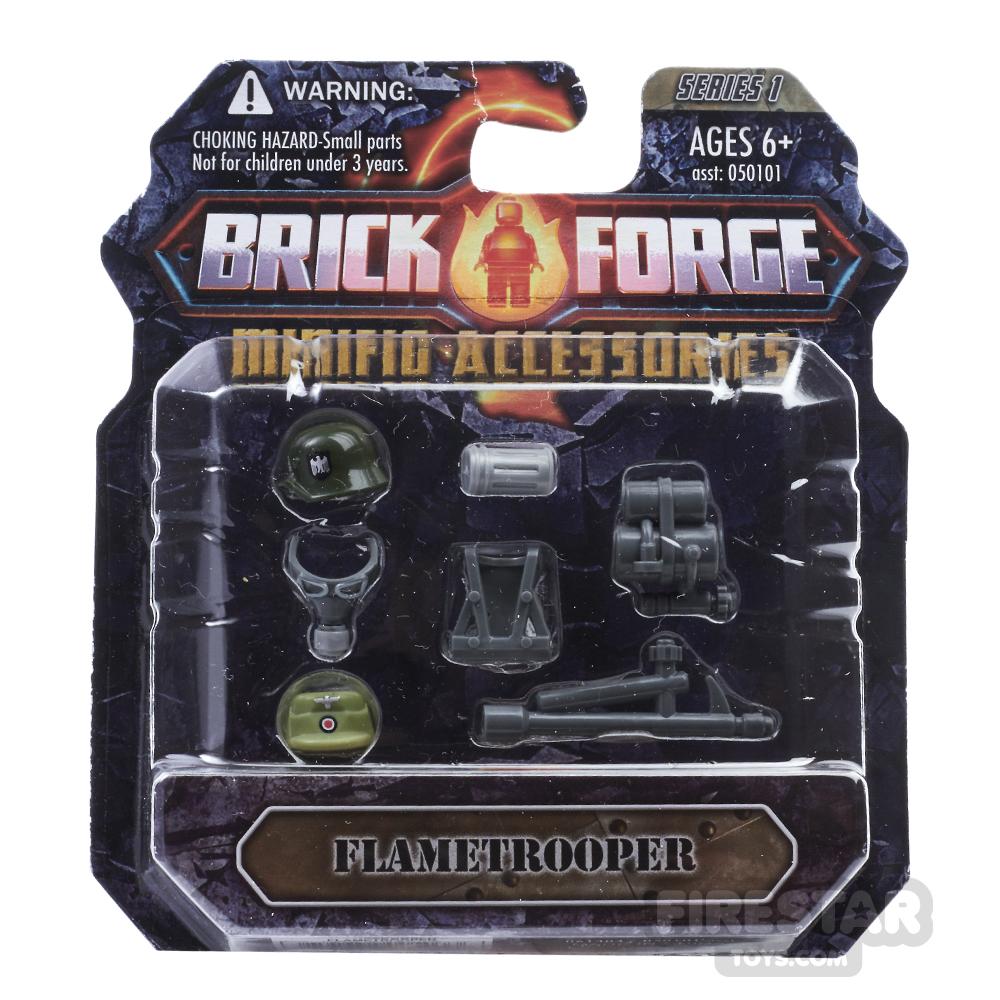 BrickForge Accessory Pack - WW2 - Flametrooper