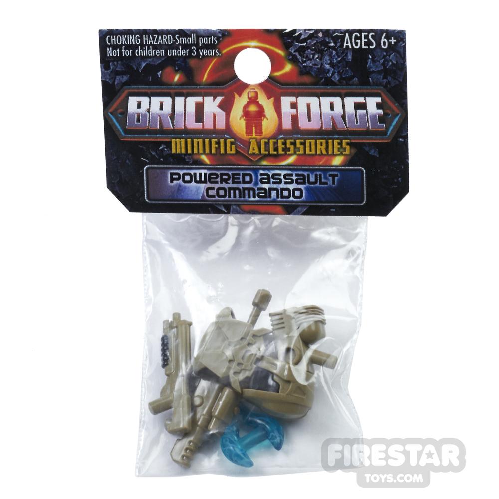 BrickForge Accessory Pack - Powered Assault Commando - Dark Tan