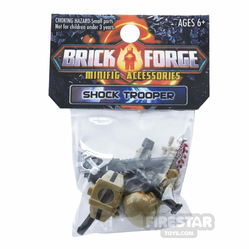 BrickForge Accessory Pack - Shock Trooper - Desert Drop